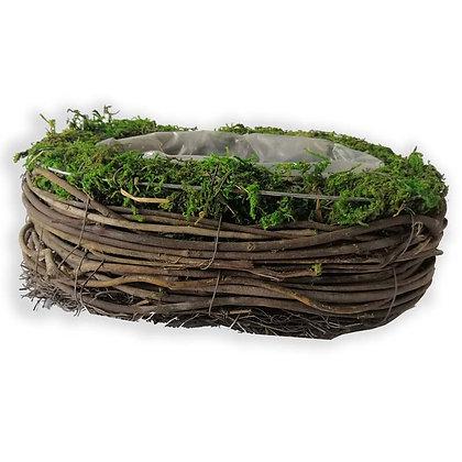 Pot en bois indigène