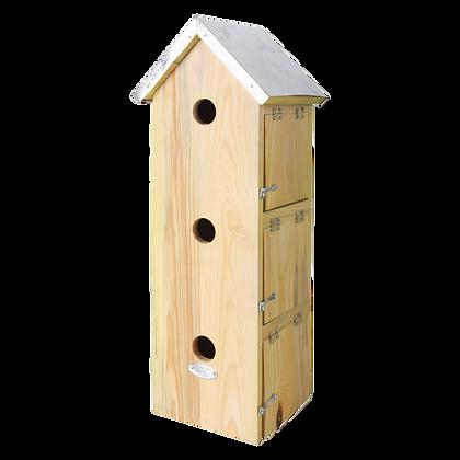 Nichoir vertical pour oiseaux