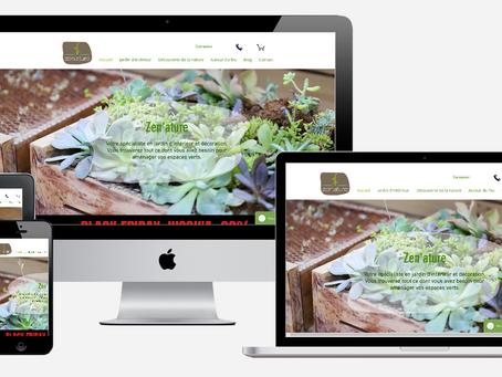 Présentation de notre nouveau site internet