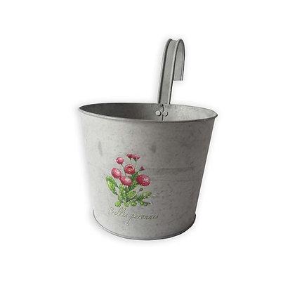 Pots de fleurs en zinc