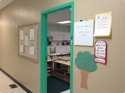 Classroom entrance