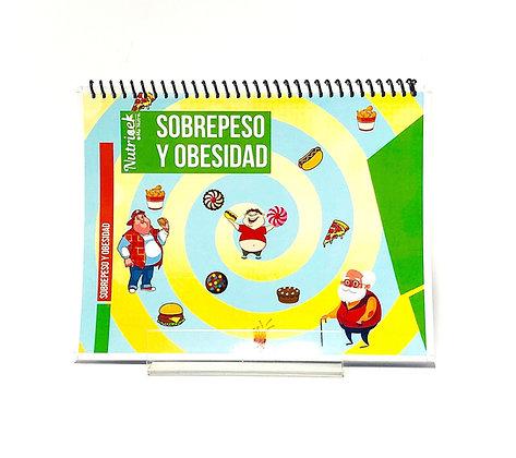 Rotafolio interactivo Nutricek Sobrepeso y Obesidad