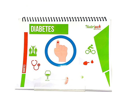Rotafolio interactivo Nutricek Diabetes