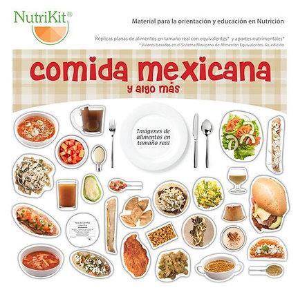 Nutrikit comida mexicana y algo más para talleres con velcro