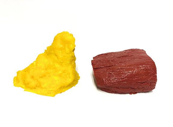 Kit de réplicas rígidas de grasa y músculo Nutrifood