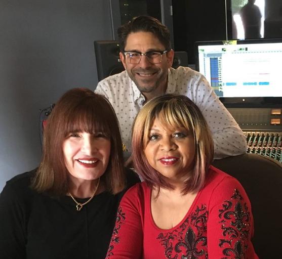 in the studio with Mari and Deniece Williams
