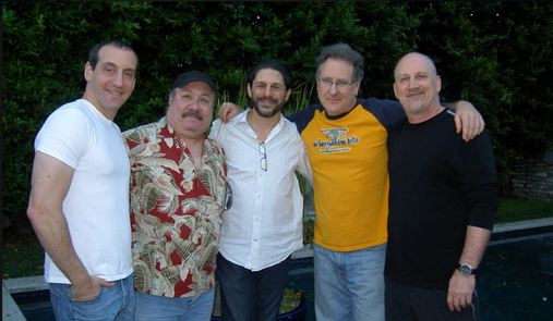 recording w/Ron Boustead (Mike Shapiro, Ramon Stagnaro, BC, Brian Bromberg, Ron)