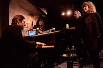 w/Hussain, Herb and Lani at Cafe Carlyle