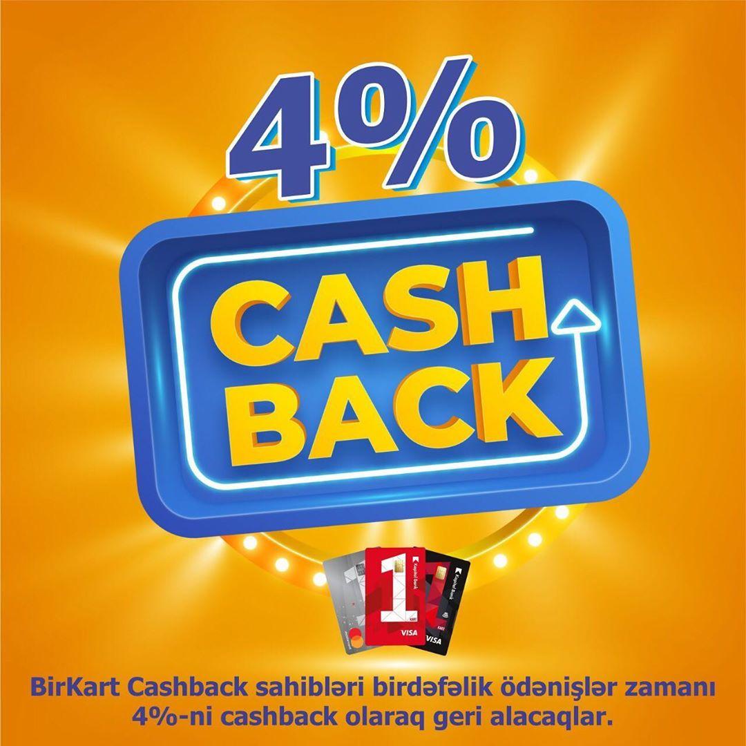 Birkart Cashback sahibləri nağd alış-ver