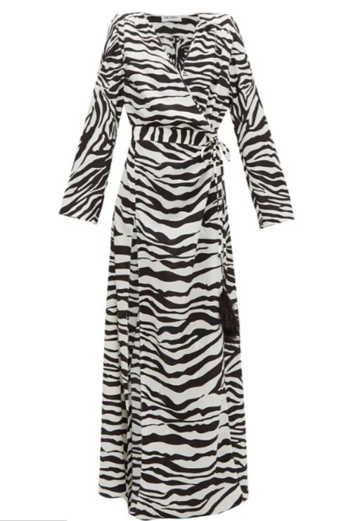 The Attico Zebra Dress Size US 4