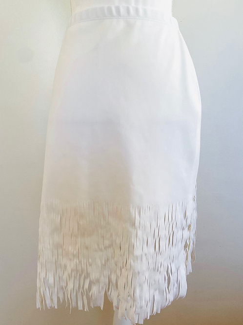 Dion Lee X Carbon38 Skirt US Small Fringe Skirt