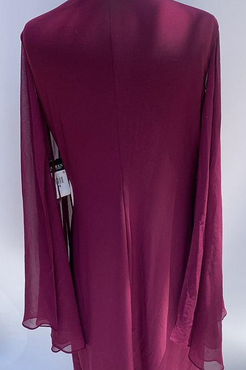 Lauren by Ralph Lauren Magenta Dress