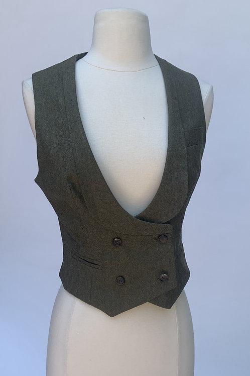 Alexander McQueen Gray Wool Vest - IT 38