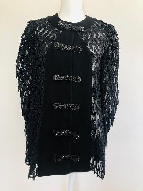 Georges Hobeika Black Mini Dress US 6
