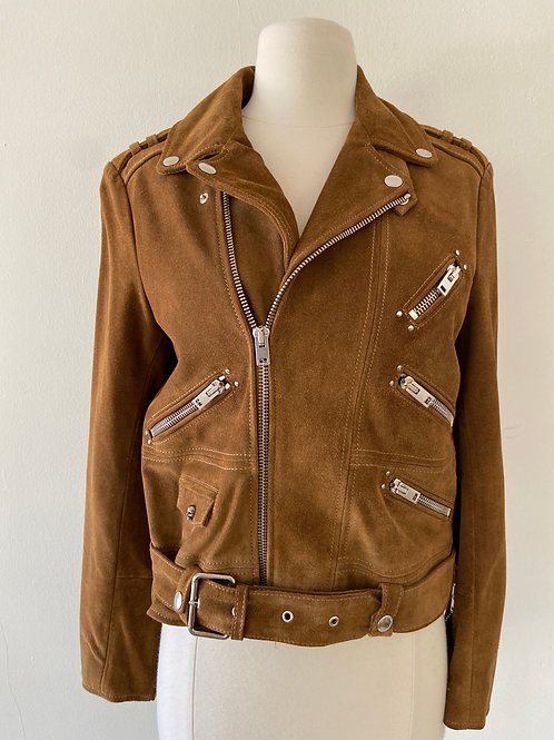 The Kooples Suede Jacket Size 0-2