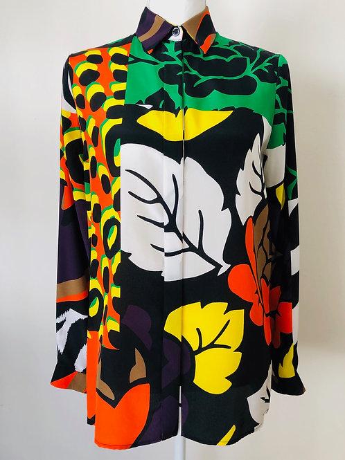 Versace Blouse Size 2