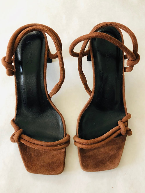 By Far Brown Sandals Size 7