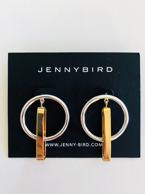 Jenny Bird Hoop Earrings