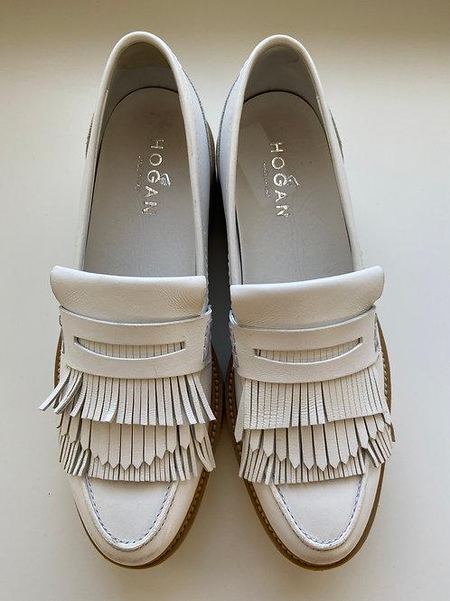 Hogan Platform Loafers Size 10