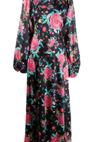 The Attico Floral Dress Size US 4