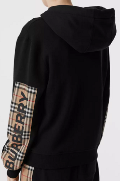 Burberry Oversized Hooded Zip Up Size M