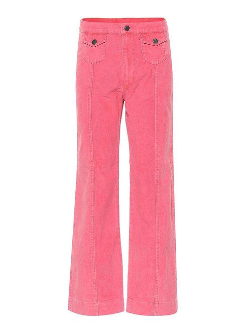 M.i.h Corduroy Pink Jeans Size XS