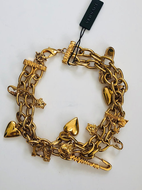 Versace Chunky Chain Necklace