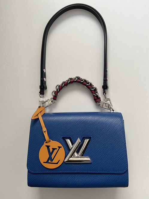 Louis Vuitton Blue Leather Bag