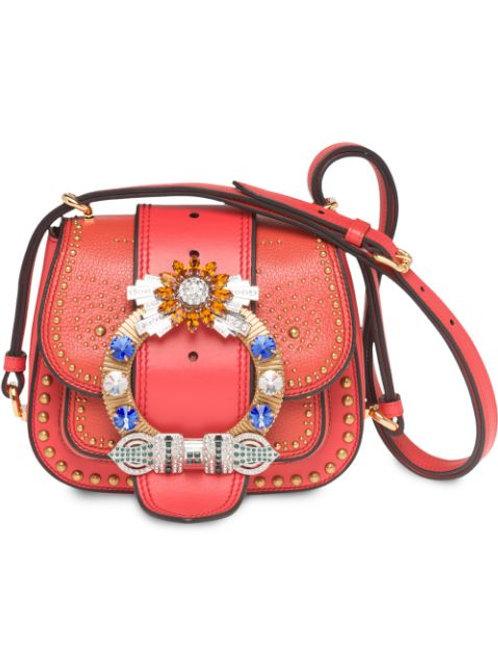 Brand New Miu Miu Madras Dahlia Bag