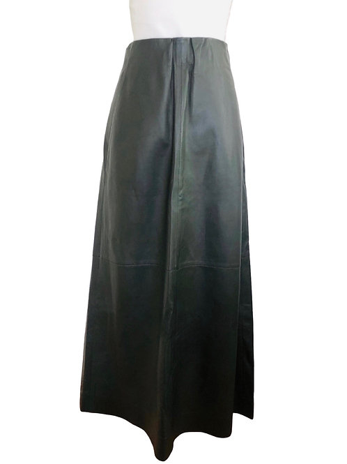 COS Leather Skirt