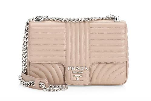 Brand New Prada Diagramme Leather Bag