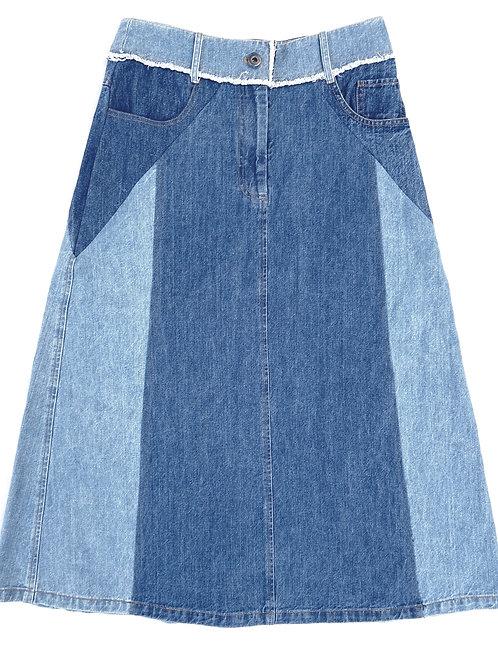 Sea Denim Skirt Size 6