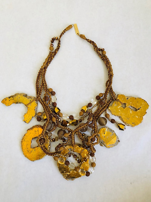 Oscar De La Renta Stone Necklace