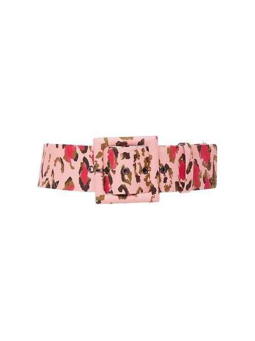 Carolina Herrera Leopard Printed Belt