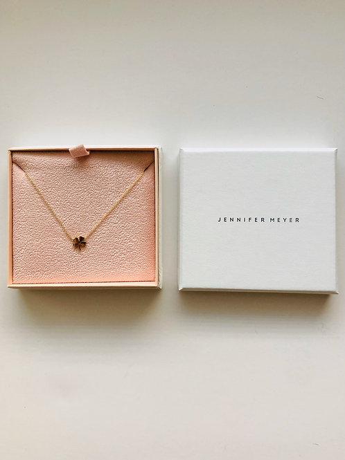 Jennifer Meyer Clover Necklace