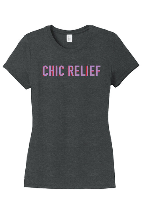 Chic Relief Logo Tee