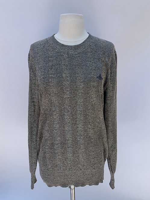 Vivienne Westwood Gray Men's Sweater - Size Medium