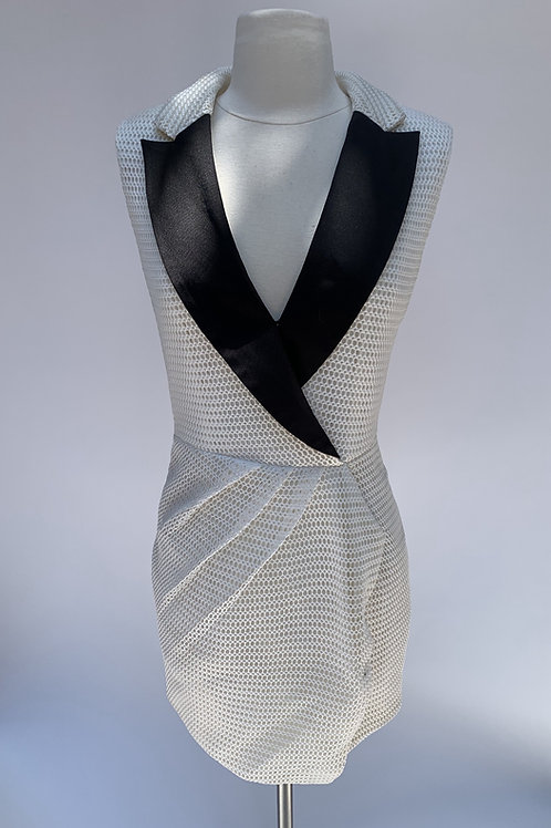 Self-Portrait Sleeveless Midi Dress - Size US 6