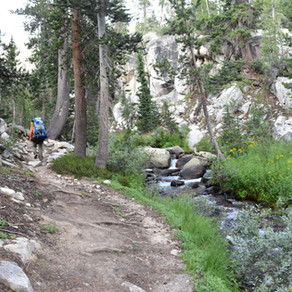 JMT Day 3, and Mono Creek Trail