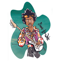 Jimi Hendrix COLOR
