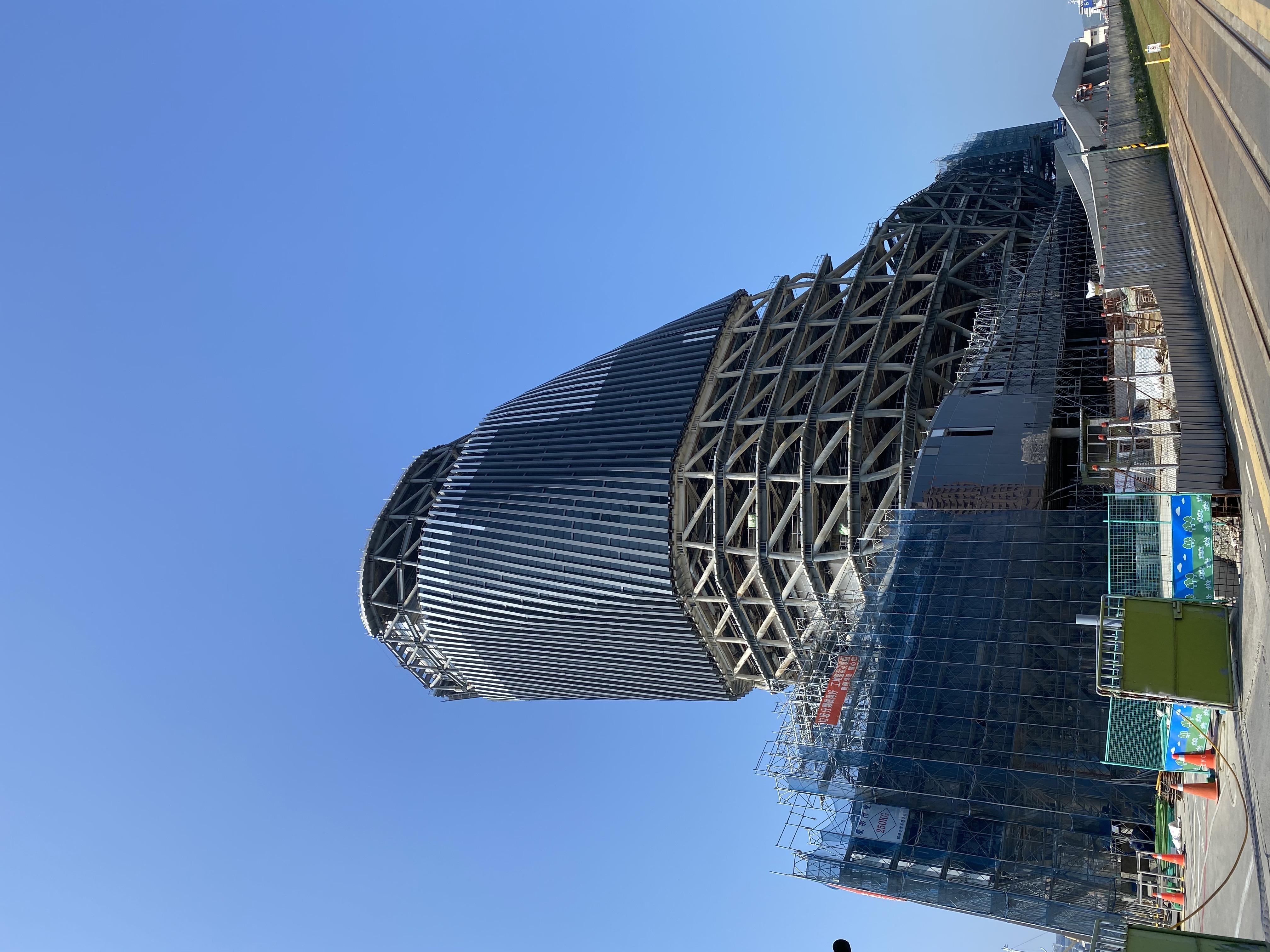 高雄港埠旅運中心(施工中)1090205