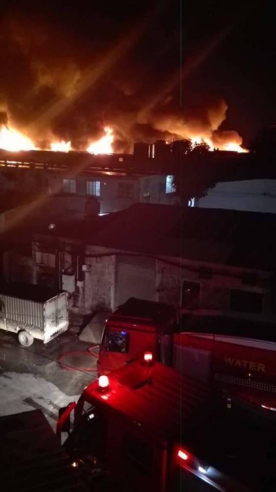 消防車到現場救援。南都記者孫振飛攝