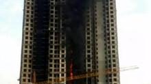 鄭州在建大樓外牆速燃34層 官方檢測保溫材料不合格
