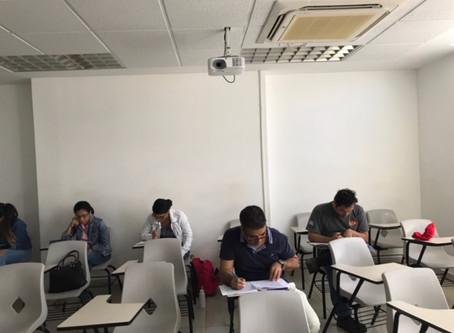 Examen de certificación IPMA Nivel D en la Universidad Interamericana de Panamá