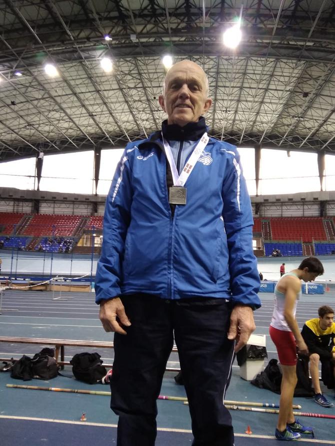 Primeros campeonatos de Euskadi en pista cubierta
