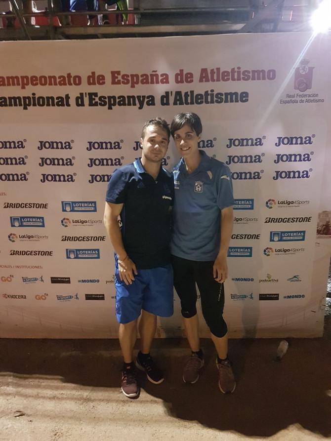 Alazne Furundarena y Octavian Romanescu subcampeones de España en Barcelona