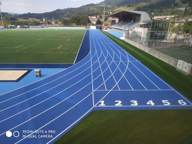 Altamirako atletismoko pista berri eta historikoaren inaugurazioa