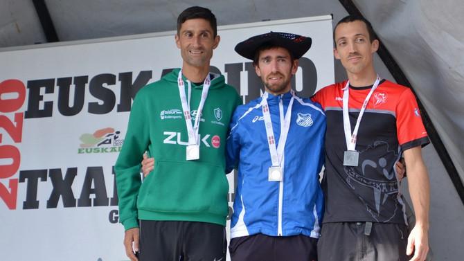 Eneko Agirrezabal Campeón de Euskadi absoluto de Cross en Gernika