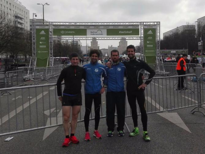 Eneko Agirrezabal 1:05:50 en la media maratón de Berlín