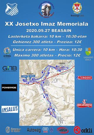 XX. Josetxo Imaz memoriala